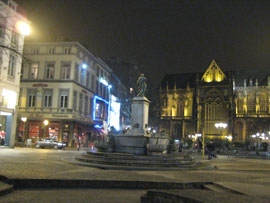 Liege by night